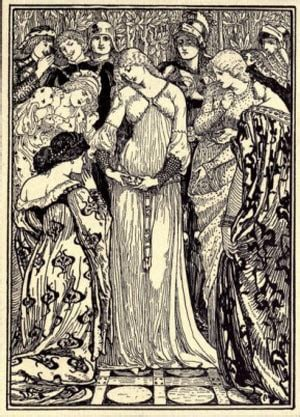 Garden Arts And Crafts - walter crane illustrations and drawings