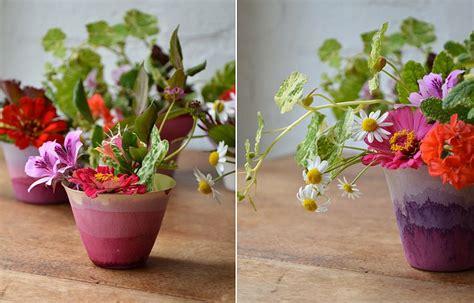 Hiasan Meja Bunga Yaezakura Mini Warna Fanta 9 kreasi pot bunga mini ini cocok buat hiasan meja unik banget