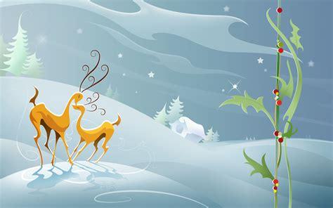 wallpaper christmas reindeer christmas reindeer wallpaper 449006
