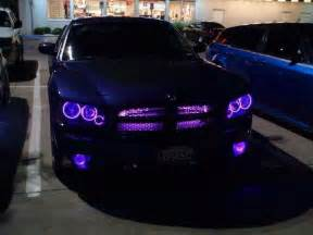 dodge charger wth purple lights awesome leadfoot