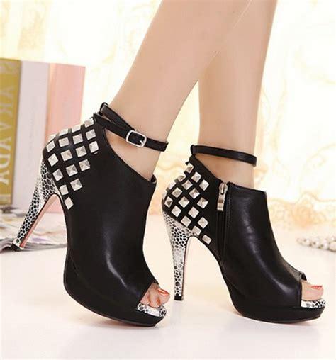 Boots Korea 3 korean style high heels fish boots on luulla