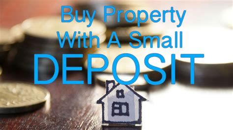 how to buy a house with a small deposit