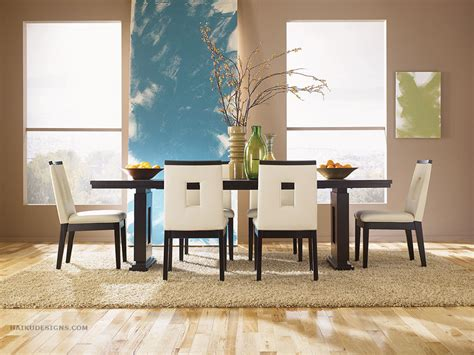 Designer Dining Chair Modern Furniture Asian Contemporary Dining Room Furniture From Haiku Designs