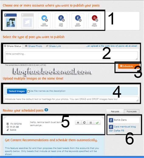 tutorial secara definitif adalah cara menjadwal status facebook secara otomatis tutorial