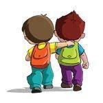 imagenes niños yendo ala escuela convivencia primaria mariano moreno marzo 2014