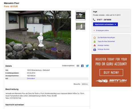 schei 223 e kacke pisse ebay kleinanzeigen mit stil ebay