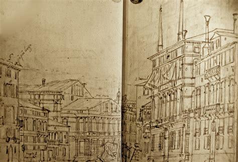 canaletto ottica schizzi di canaletto a venezia