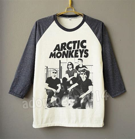 Raglan Kaos Band Arctic Monkeys It And See Tag Gildan arctic monkeys t shirt rock from adorabear2014
