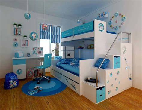 bunk bed rooms bedroom designs blue bunk beds girls room four pillars