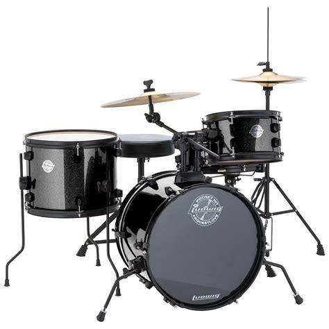 drum with ludwig pocket kit 4 drum set w hardware cymbals