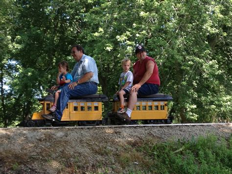 backyard trains you can ride mini steam summer not your normal steam