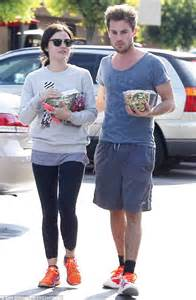 lucy hale looks deep in thought without boyfriend lawson s