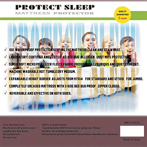 Sleep Number Bed Bug Cover Continental Sleep Mattress Amp Box Spring Protector Covers