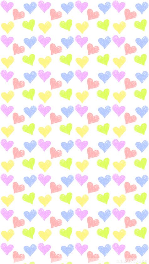 wallpaper iphone tumblr pastel pastel hearts iphone wallpaper