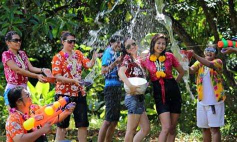 thailand new year song thailand gears up for traditional thai new year songkran
