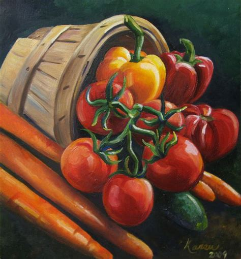 vegetables painting painting on canvas 350 still of vegetables and