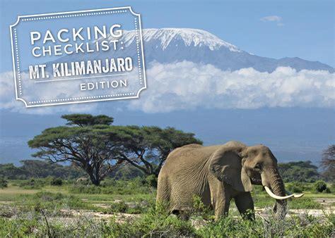 trekking mount kilimanjaro packing list her packing list mt kilimanjaro packing list brownell travel