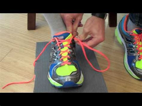 how to tie running shoes learn how to properly lace and tie your running shoes