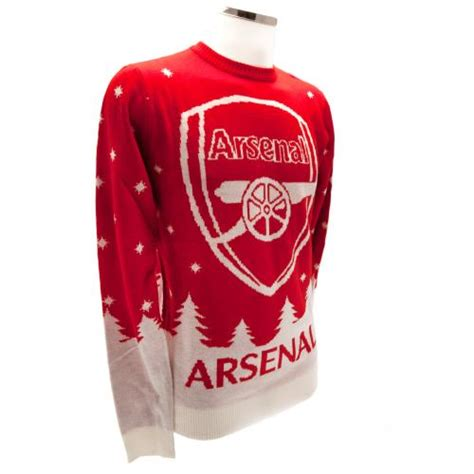 arsenal xmas jumper arsenal f c christmas jumper x large for only 163 46 19 at