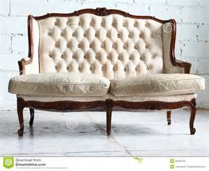 Leather Couch Sofa Vintage Sofa In The Room Royalty Free Stock Photo Image