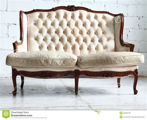 sofas stock vintage sofa in the room royalty free stock photo image