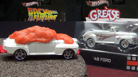 Ford De Luxe Back To The Future Hotwheels Real Riders was biff prototype used for grease 40 ford