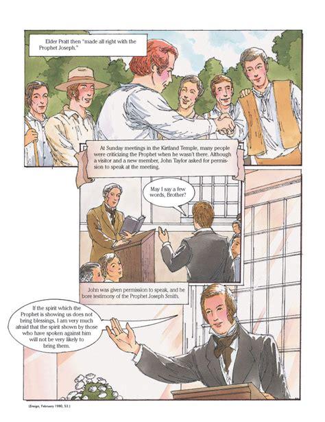 mormon a valiant prophet friend bearing testimony of the prophet friend