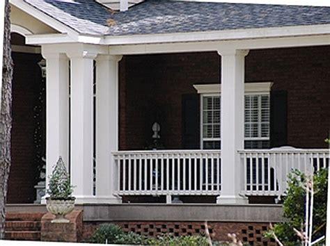 Fiberglass Porch Posts square fiberglass porch columns curb appeal products