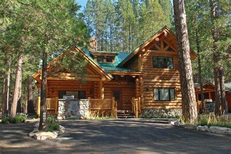 luxury log cabins in yosemite national park