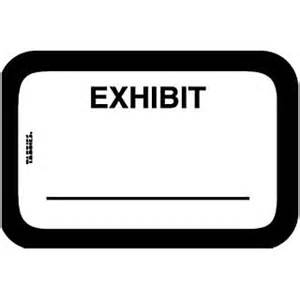 exhibit label template 1x1 5 8 quot white exhibit pre printed labels quill