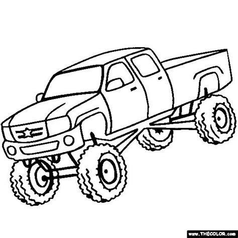 40 Free Printable Truck Coloring Pages Download Up Truck Coloring Pages