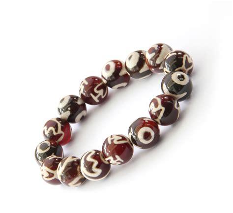 tibetan bead bracelet 12mm tibetan agate dzi bracelet ovalbuy