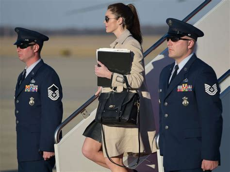 white house director of communications meet hope hicks the white house communications director