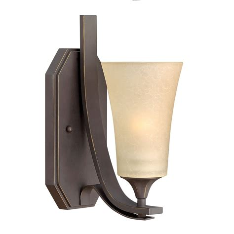 oil l wall sconce hinkley lighting brantley 1 light wall sconce in oil