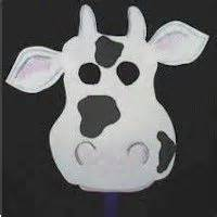 Fil A Cow Mask Template by Crafts A Cow And The Kid On