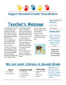5th grade newsletter template best photos of second grade classroom newsletter template