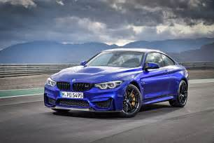 the bmw m4 cs is a limited run m4 with a power bump the