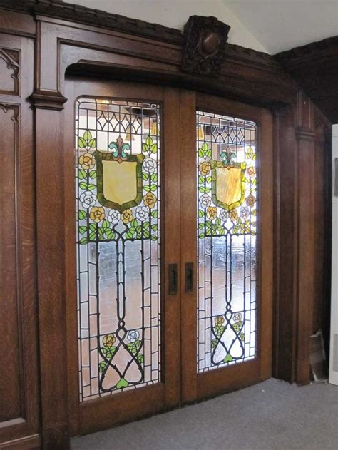 13 Best Stained Glass Pocket Doors Images On Pinterest Stained Glass Sliding Doors