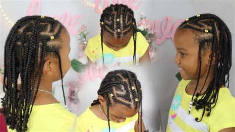 how to make fulani hairstyle fulani inspired braids kids natural hair braided