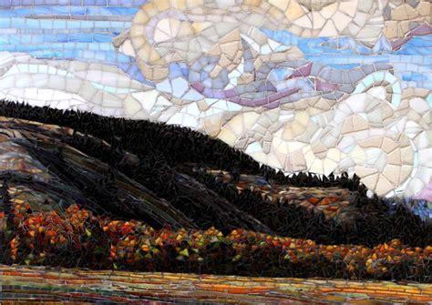 mosaic pattern landscape 17 best images about mosaics landscapes on pinterest