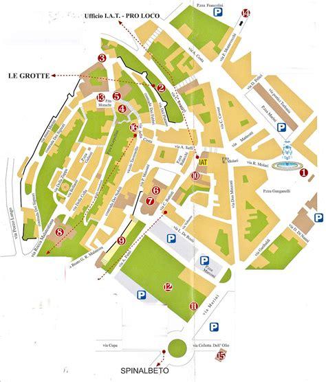 pavia mappa turistica la mappa turistica di santarcangelo di romagna foto in