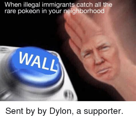 Illegal Memes - when illegal immigrants catch all the rare pokeon in your