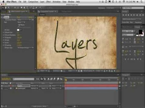 tutorial after effects handwriting after effects handwriting and tutorials on pinterest