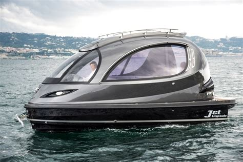 mini yacht boat jet capsule the 150 000 mini yacht with the style factor