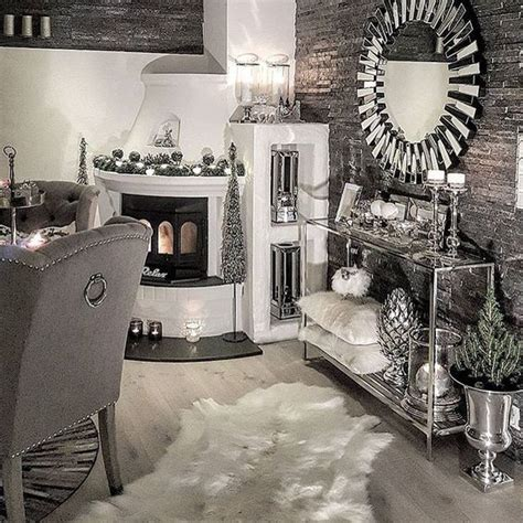 silver home decor gray and silver living room dining modern home design ideas