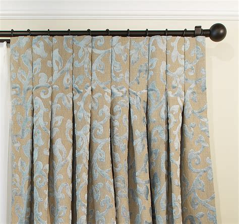 inverted pleat curtains custom voile drapery drapestyle com