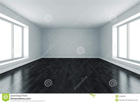 black and white floor l 3d room with white walls and black floor stock images