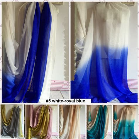 how to dye sheer curtains image gallery ombre sheer fabric