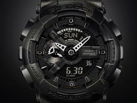 Promo Menarik Casio G Shock Ga 110 4 promo g shock black camouflage ga 110cm 1ajf