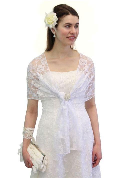 lace bridal shawl white wedding wrap prom scarf lace